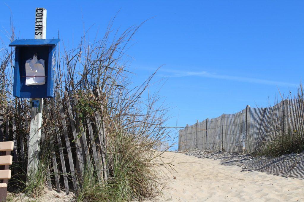Collins Street beach just steps away!