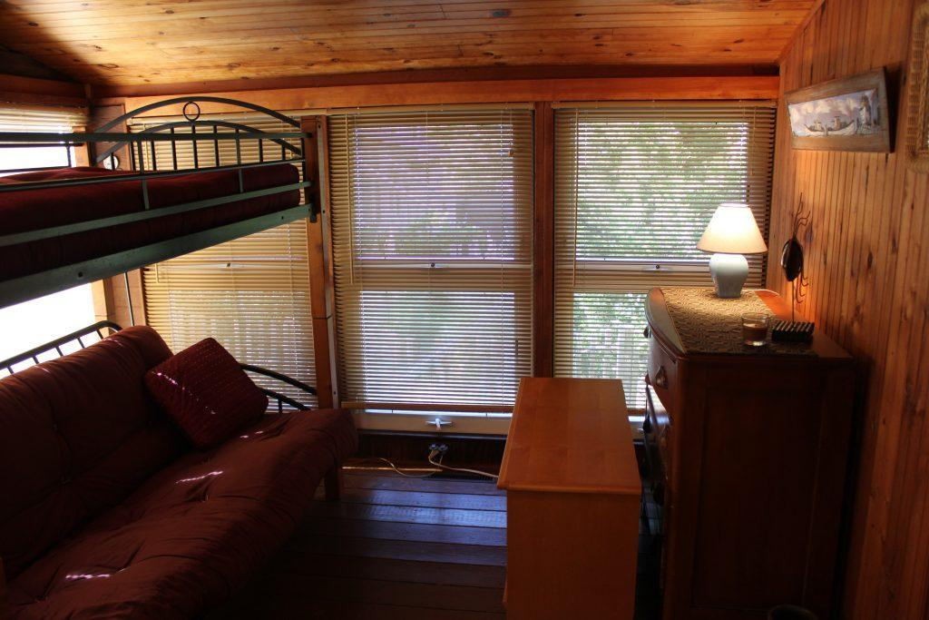 4th bedroom with bunk futon (top Twin and bottom Full)