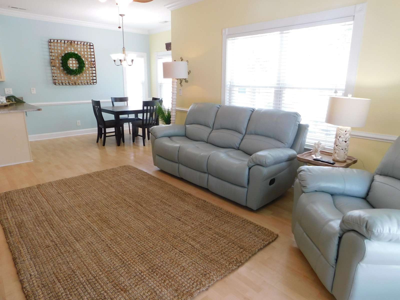 Relining Sofa and Reclining Chair