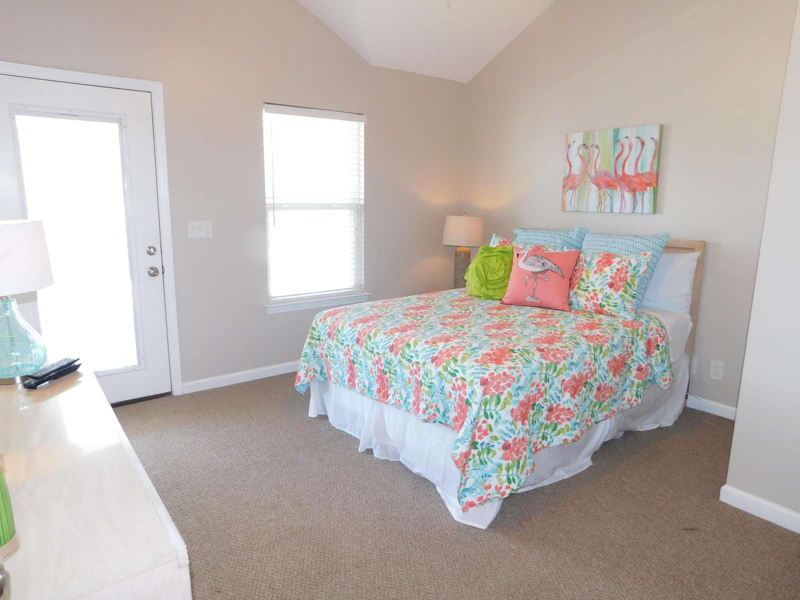 Double Bedroom with upper deck access