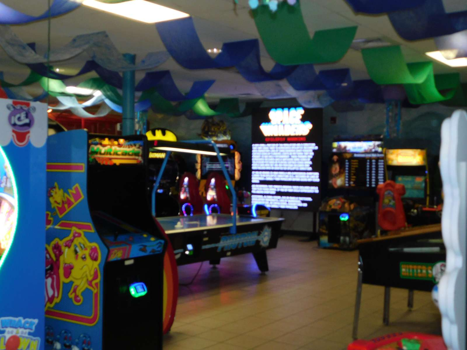 Arcade in the park