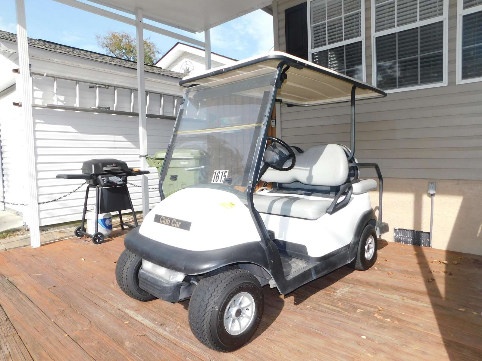 Golf Cart Included in the rental