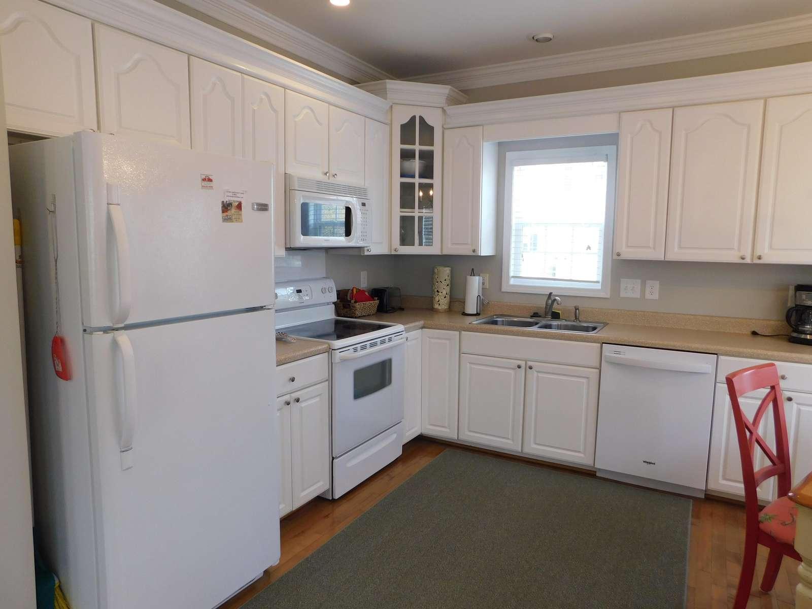 Kitchen with NEW dishwasher