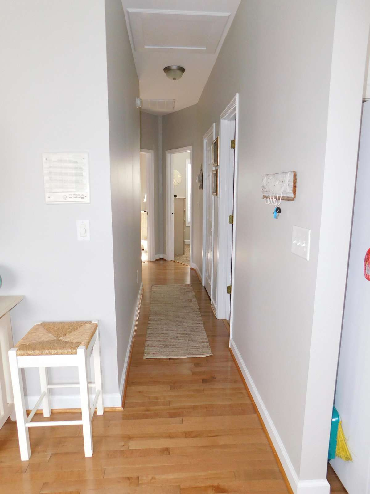 Hall looking to bedrooms