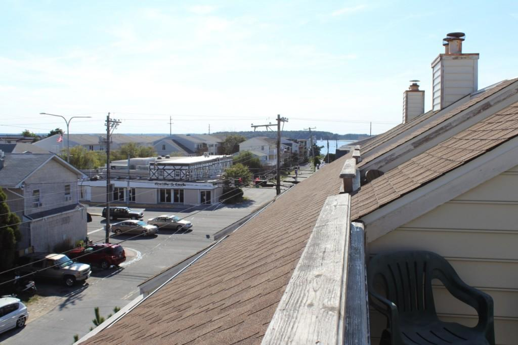 Westward view towards Rehoboth Bay from top balcony