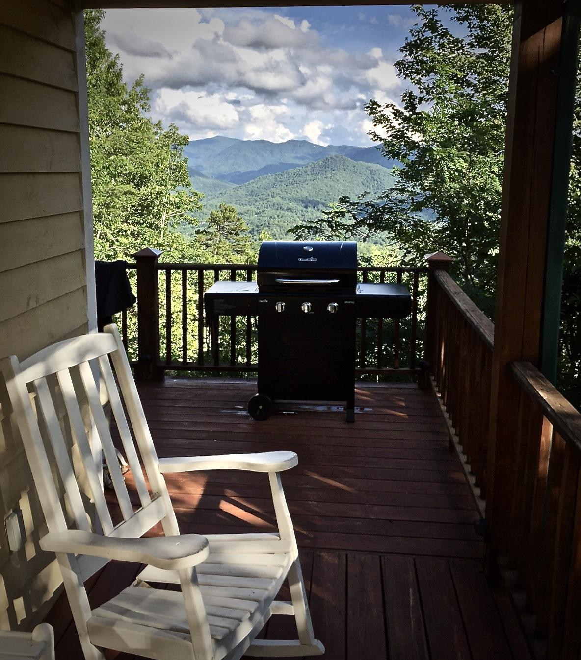 """Grilling out has never been more """"View-licious""""!"""