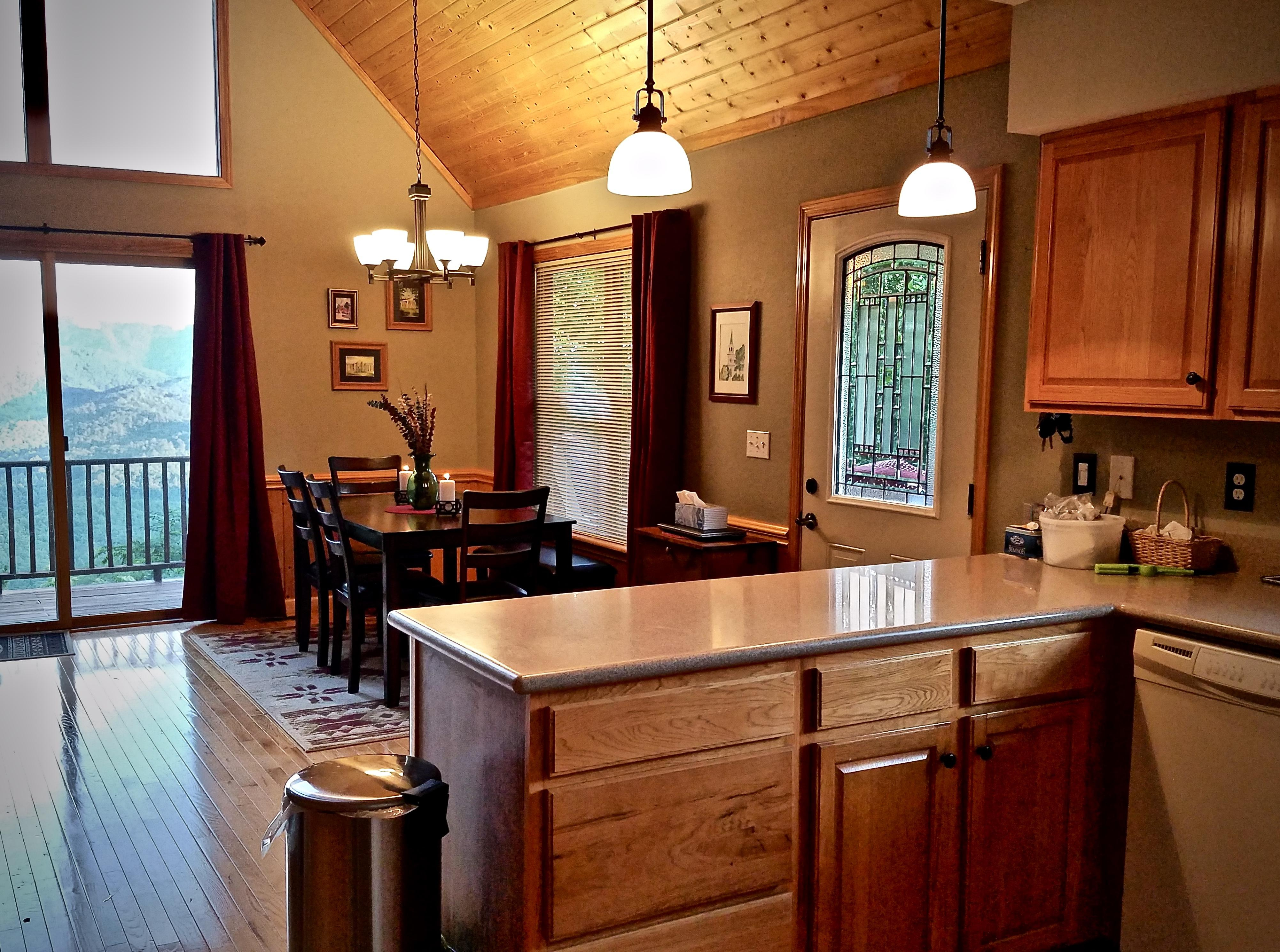 Kitchen is a Chef's delight, and is ideal when Entertaining!