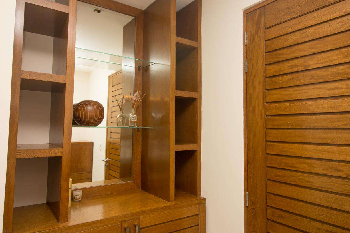 Master ensuite includes safety deposit box