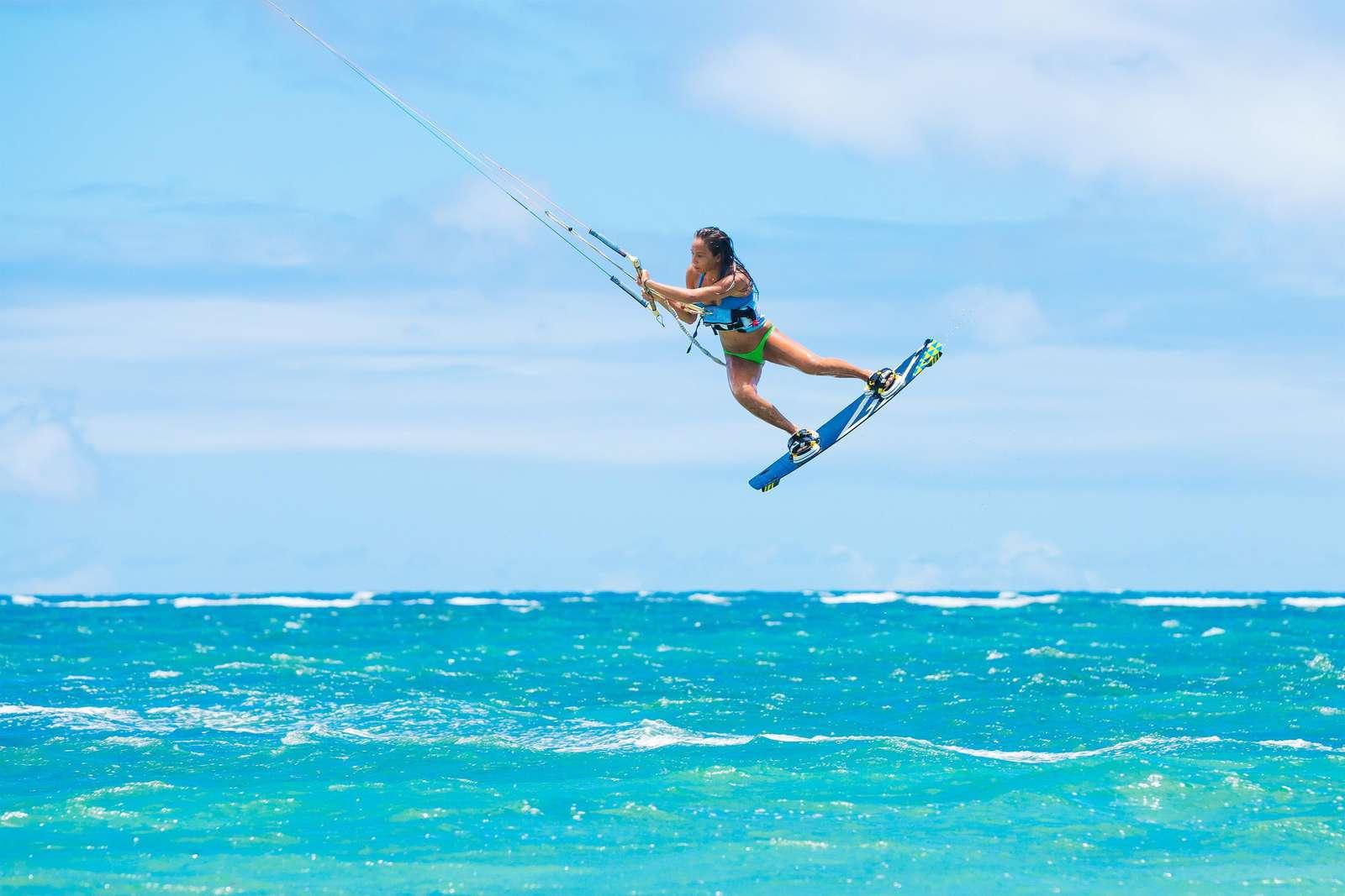 The best kitesurf beach is a few minutes walk