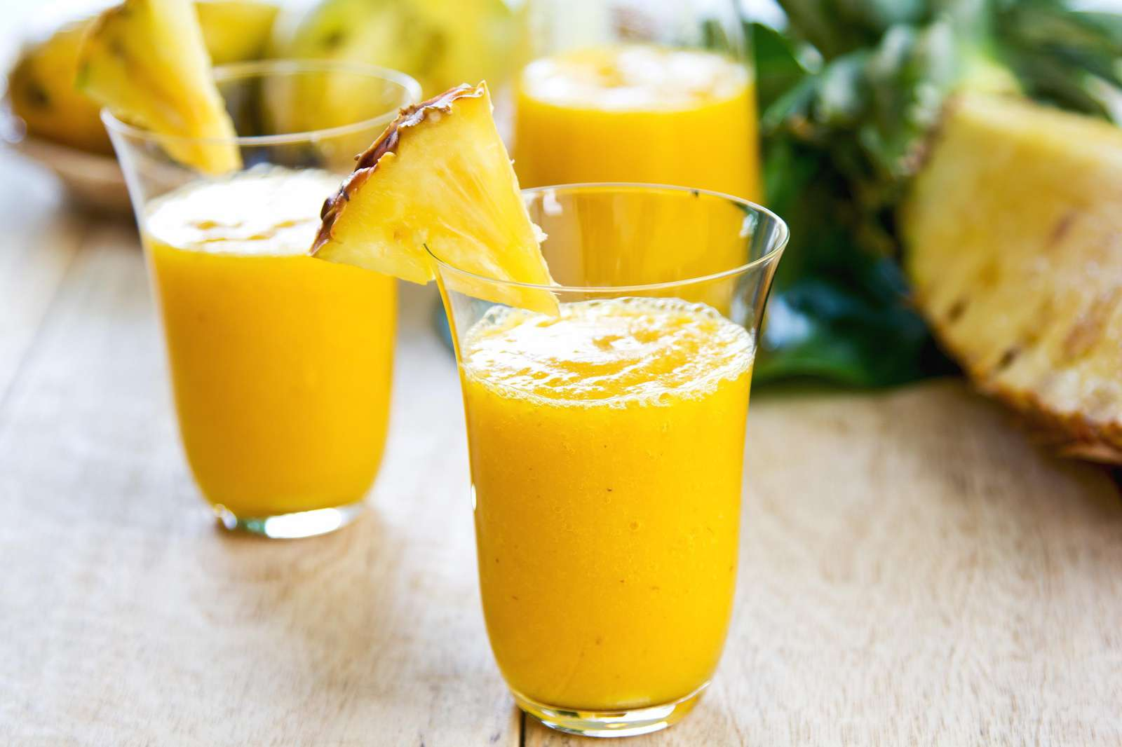 Use your provided blender for morning smoothies or afternoon Pina Coladas!