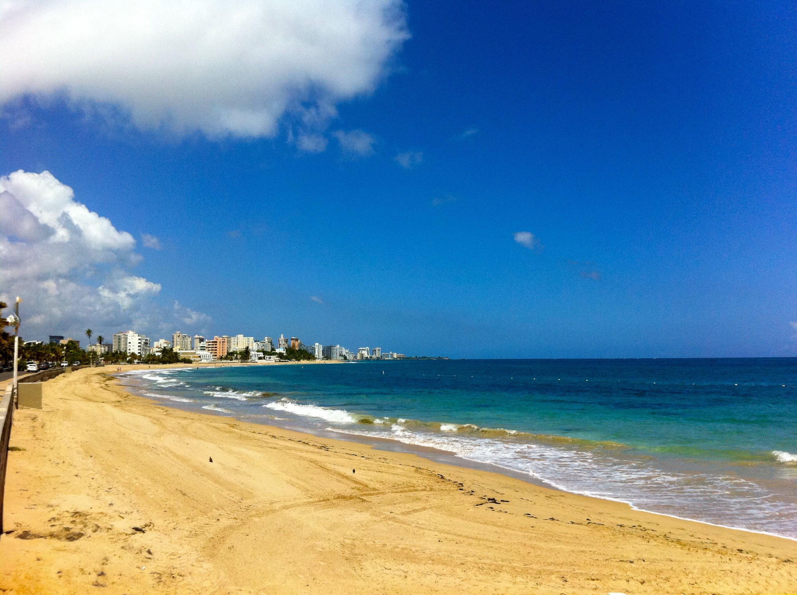 Ocean Park beach is known as the best beach in San Juan, just 2 minutes walk from us