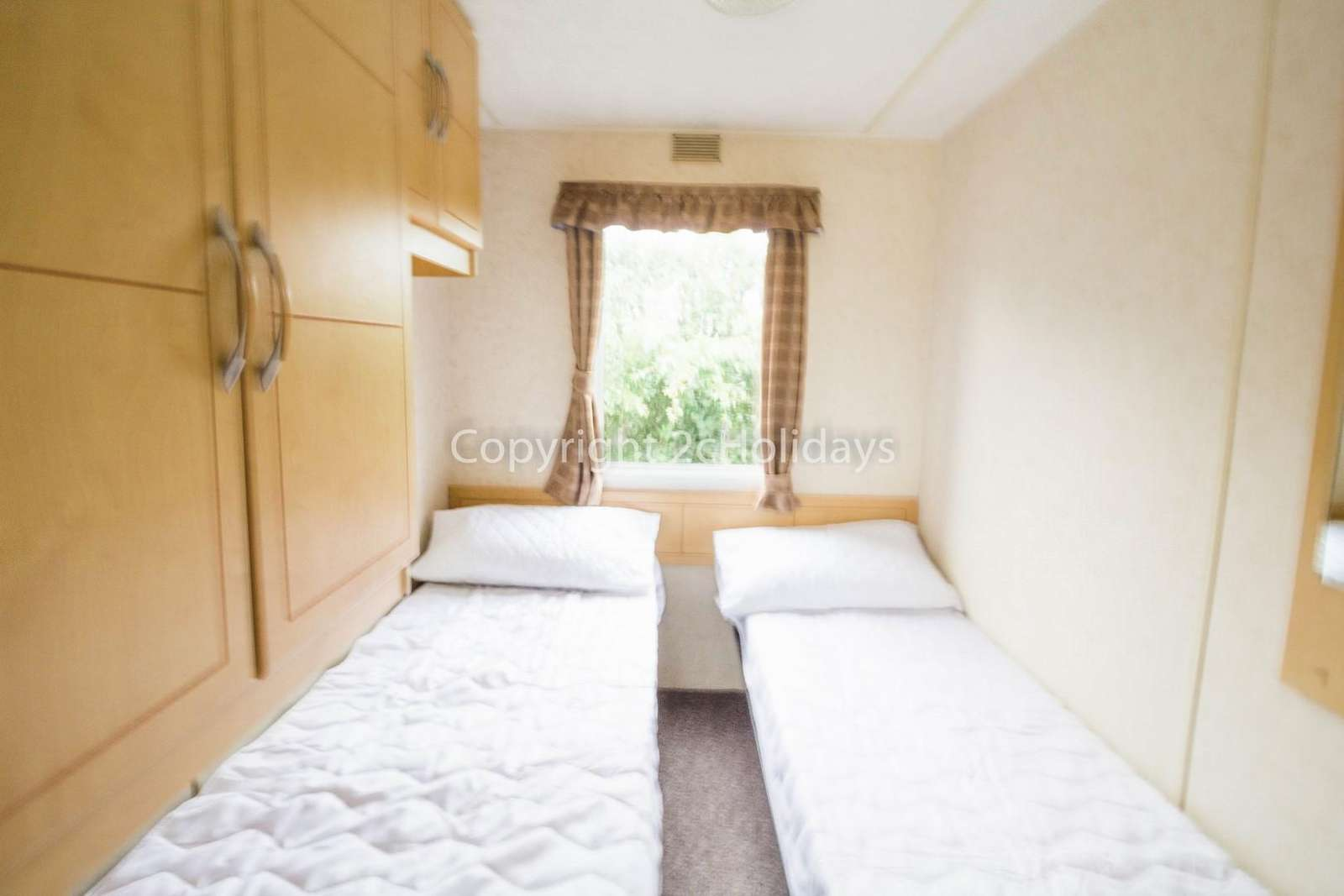 Come and stay in this private accommodation at California Cliffs Holiday Park