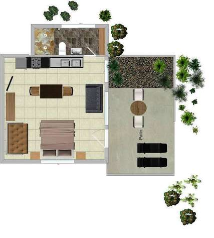 floor plan of COCO BUNGALOW