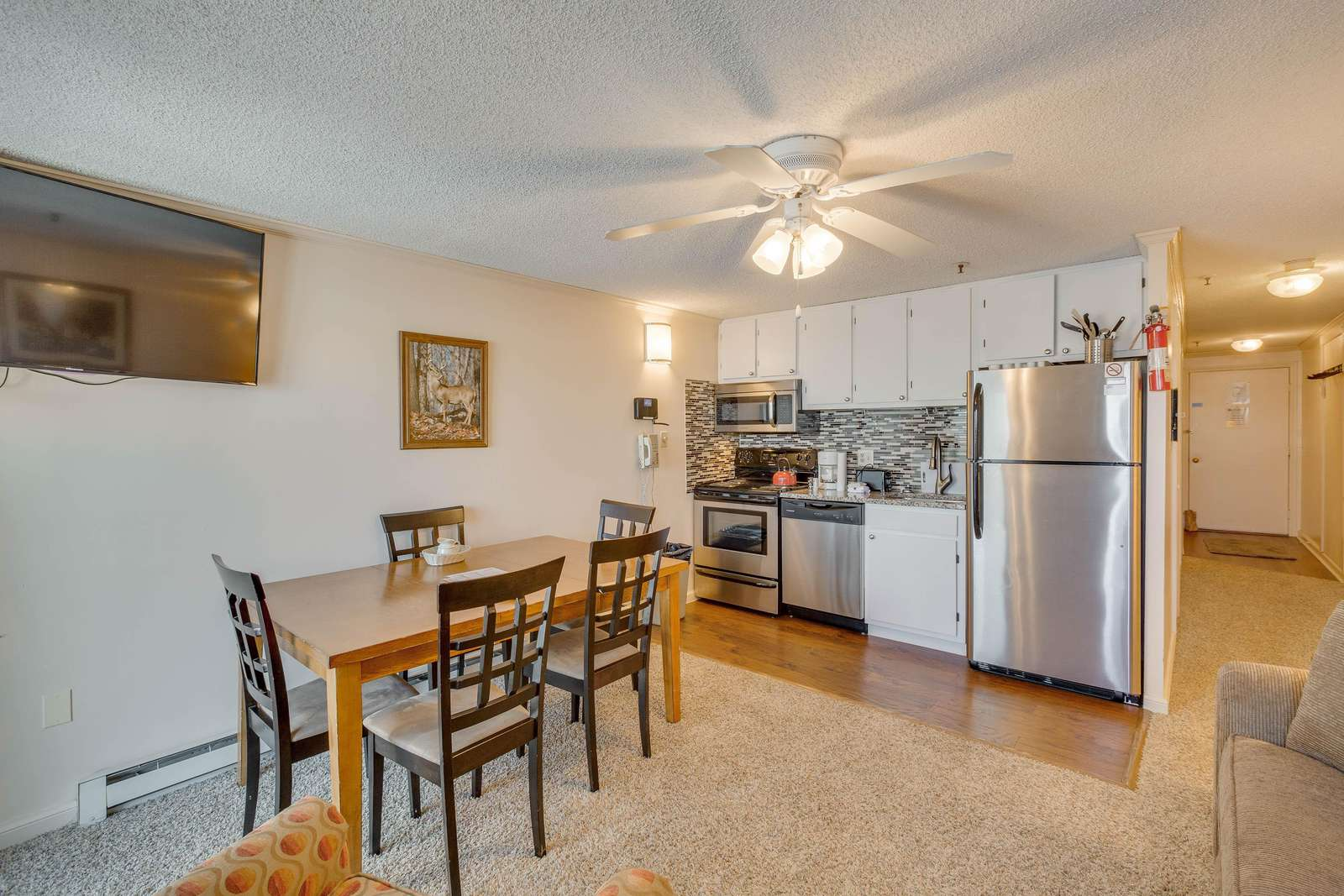 Accessible Living and Dining Area