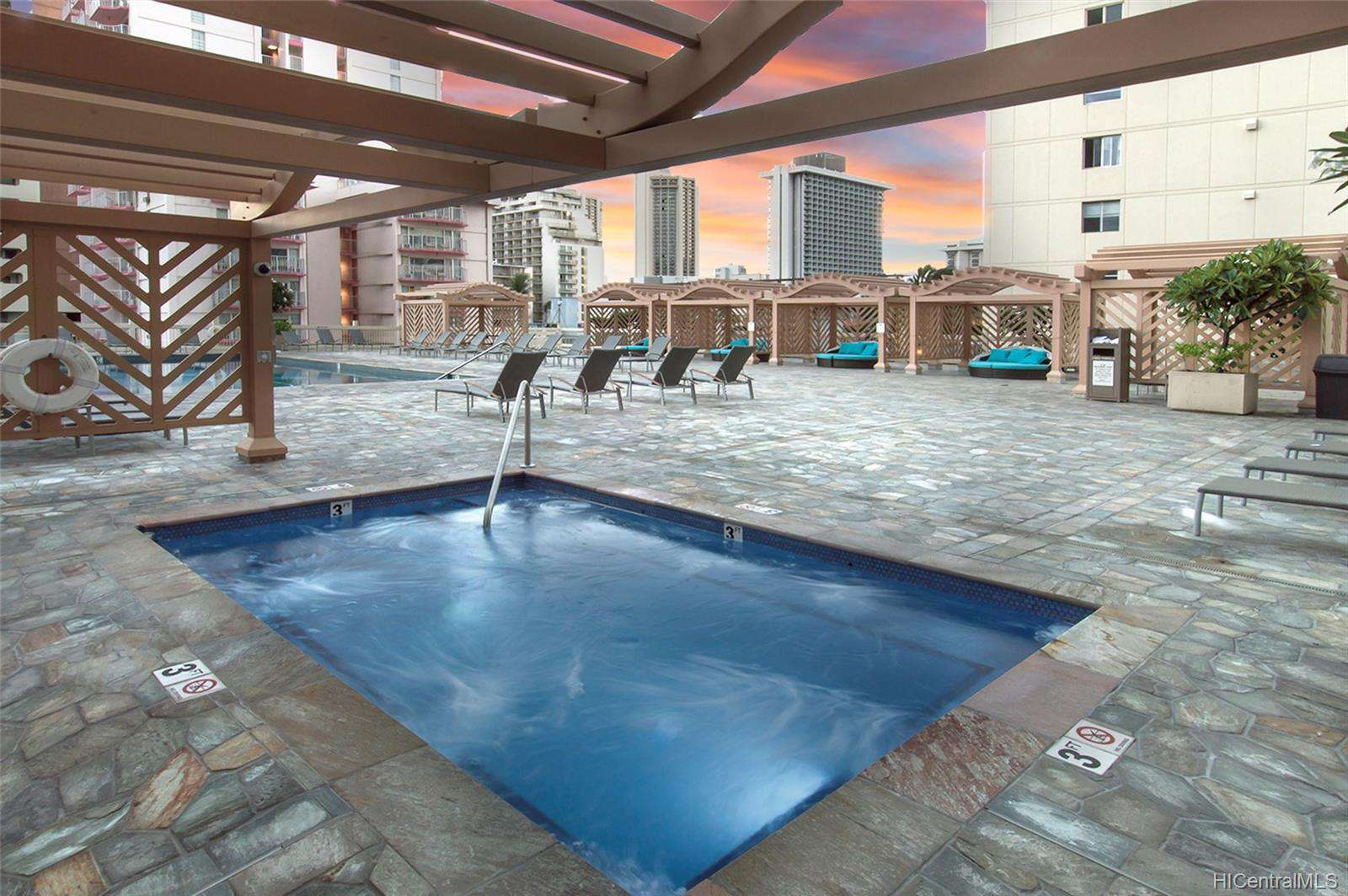 6th Floor Hot Tub
