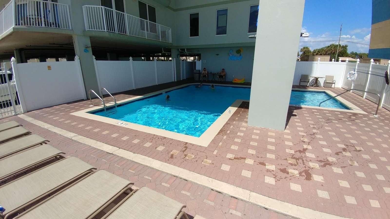 Private pool/pool deck