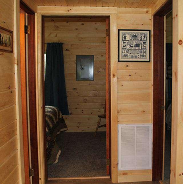 Hallway to Bathroom and 2 Bedrooms