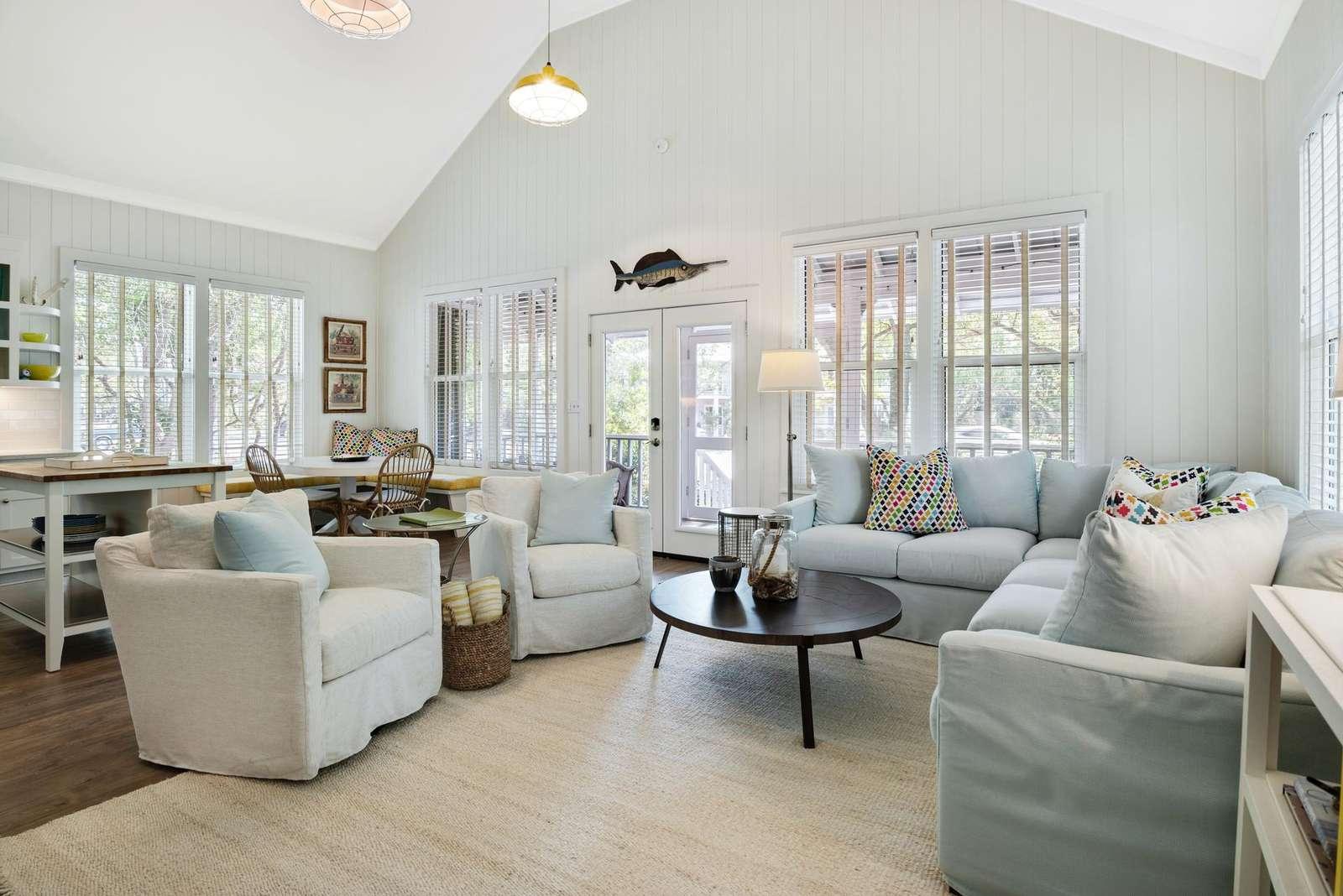 Plenty of Seating in Living Room