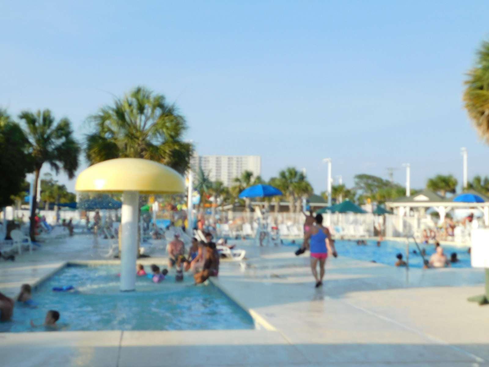 One of many kiddie pools