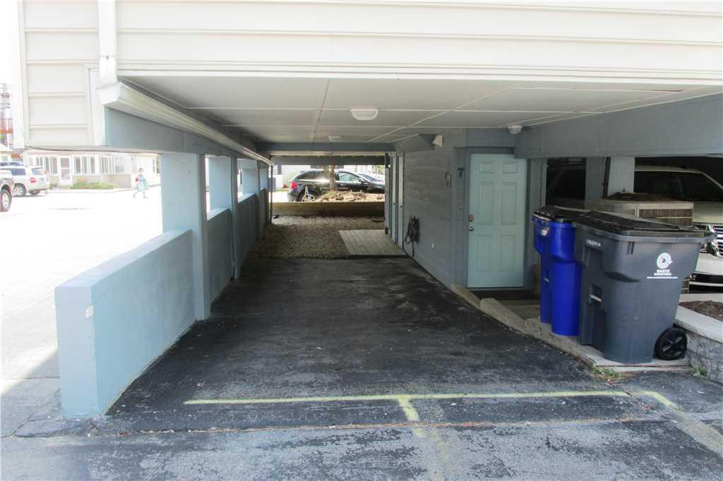 Covered parking for 2 vehicles
