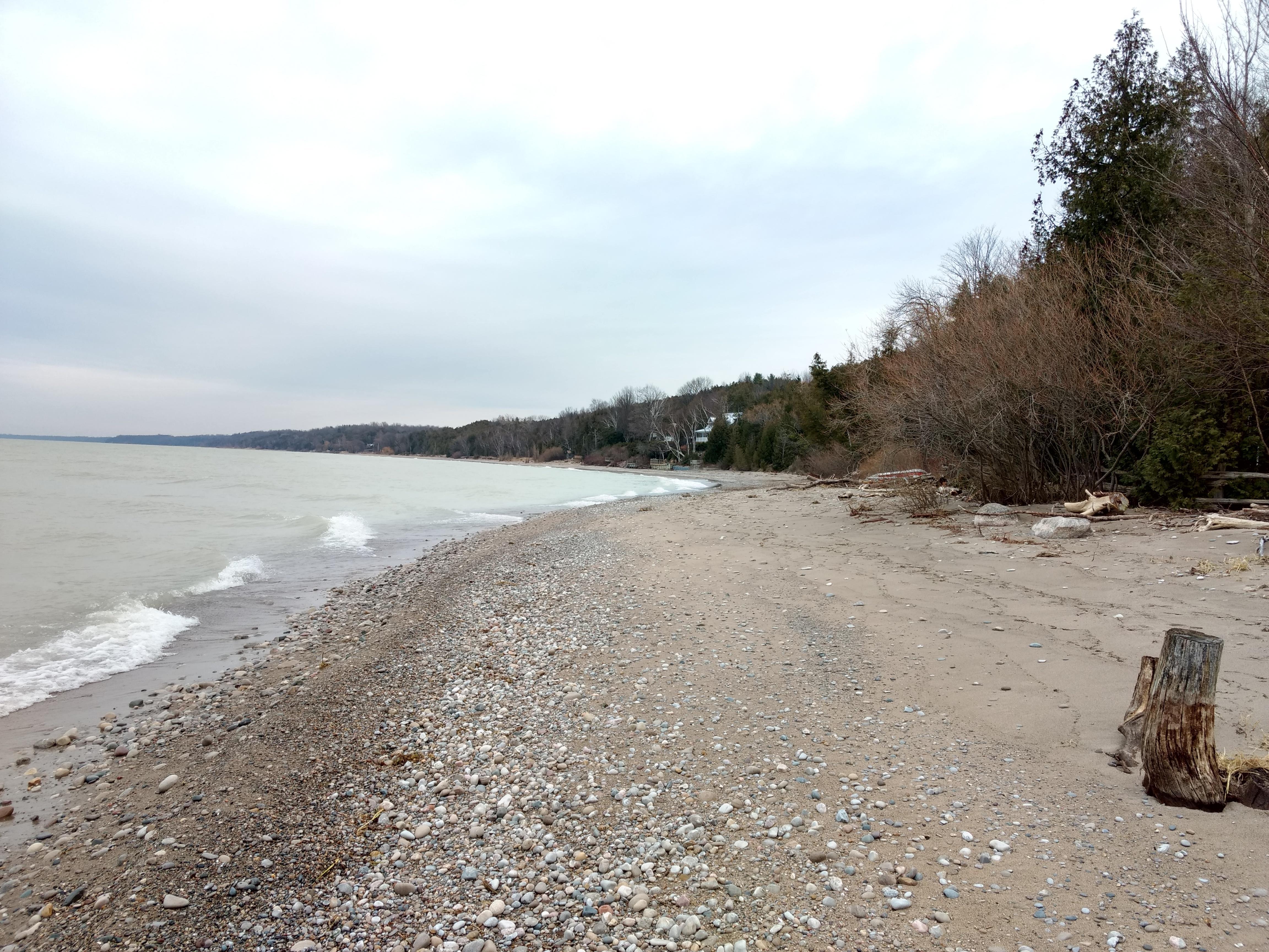 Beach a cloudy Dec 02,2017