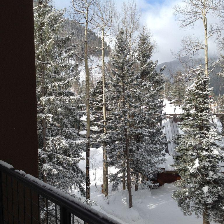 View off the private deck