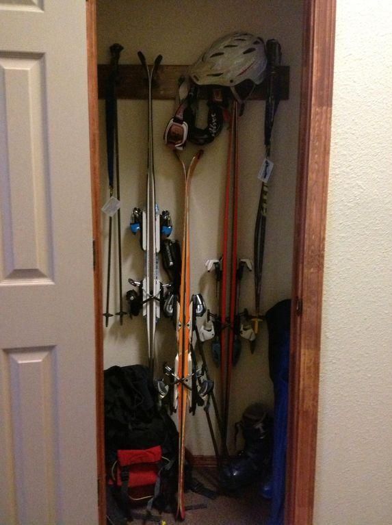 This is an example of the equipment storage locker