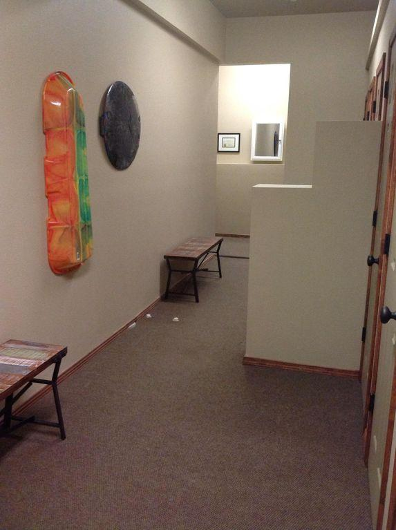 Locker room on 1st floor to lock your ski and snowboard equipment in  302 closet