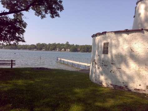 Boathouse and dock