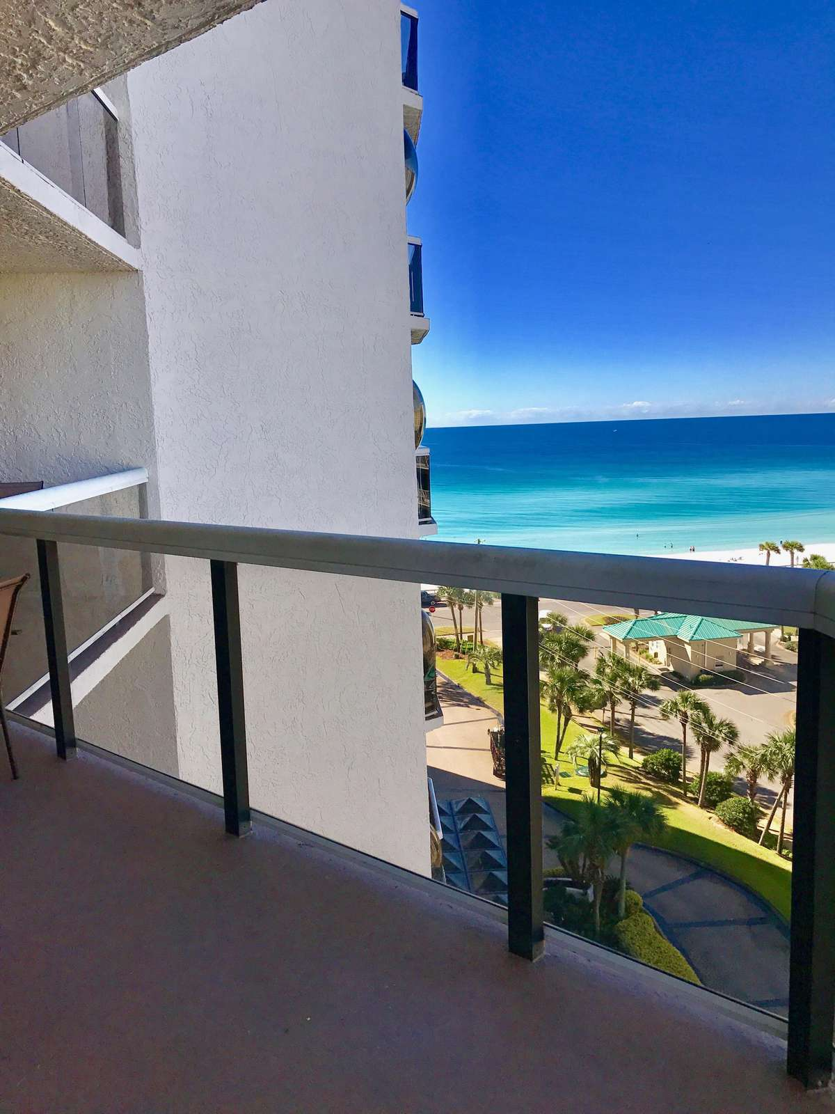 Enjoy the view from this balcony which runs the length of the condo!