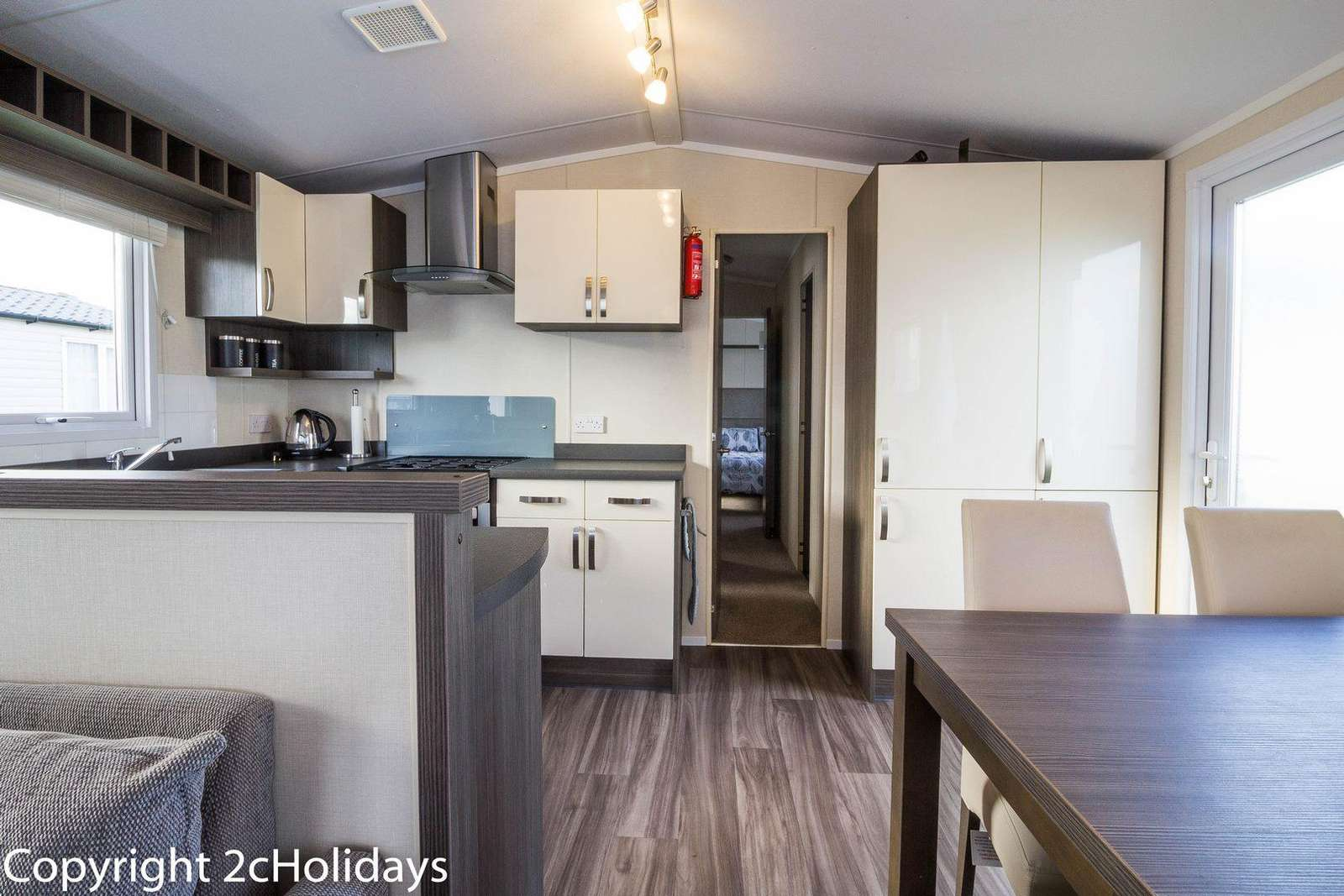 Hopton Holiday Village, in Great Yarmouth. Perfect for families.