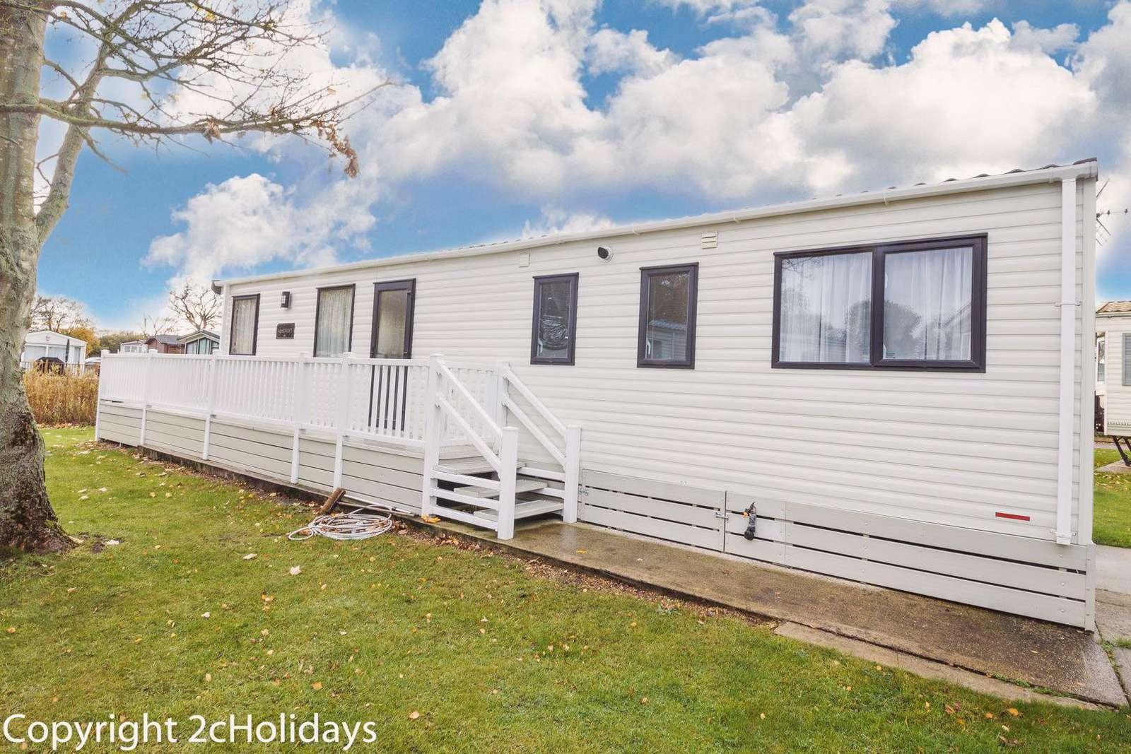 6 berth accommodation at Carlton Meres Holiday Park