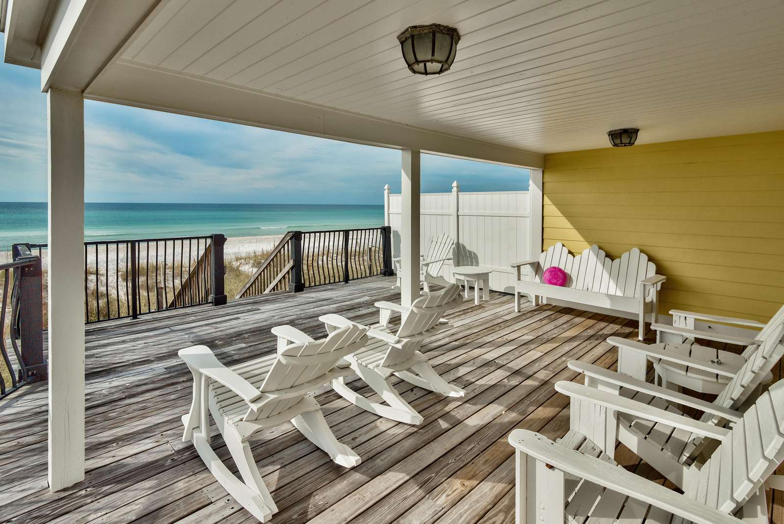 Home Boasts Covered and Uncovered Beachfront Decks! Very Spacious!