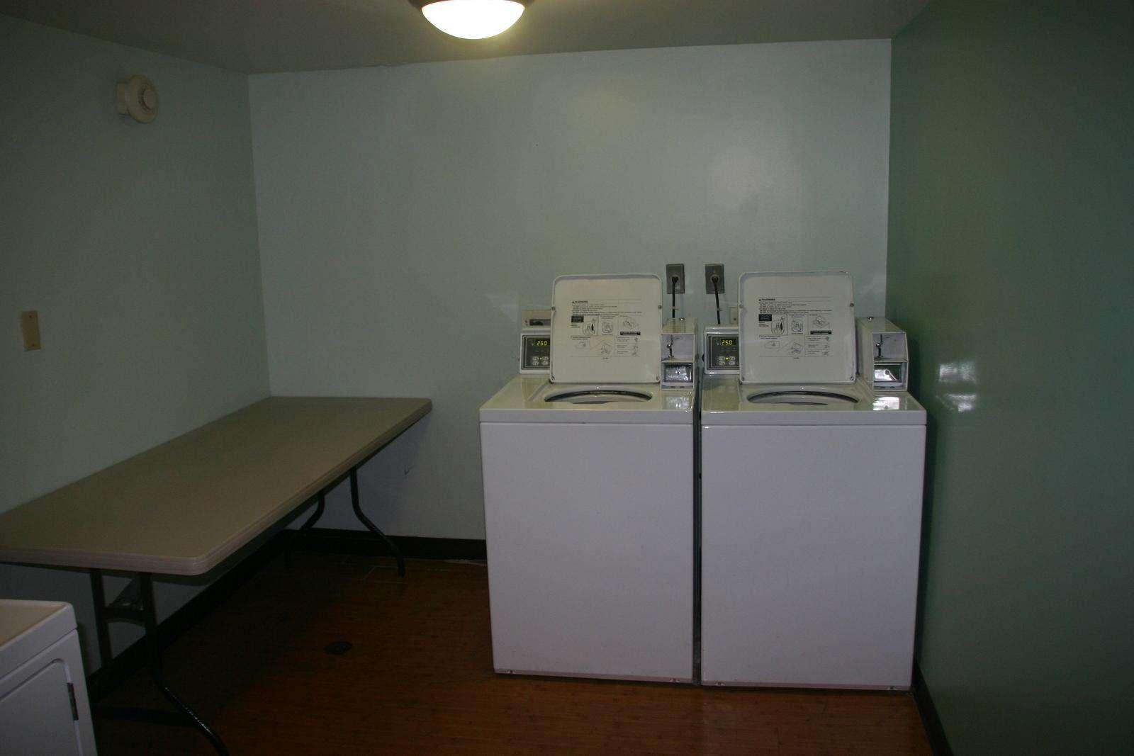 Laundry room on each floor.