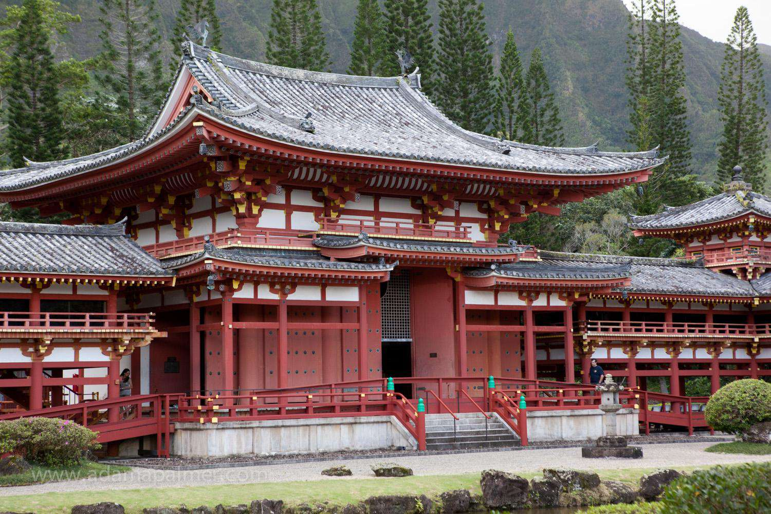 Temple at Temple Valley, only 25 minutes from Tiki Moon Villas