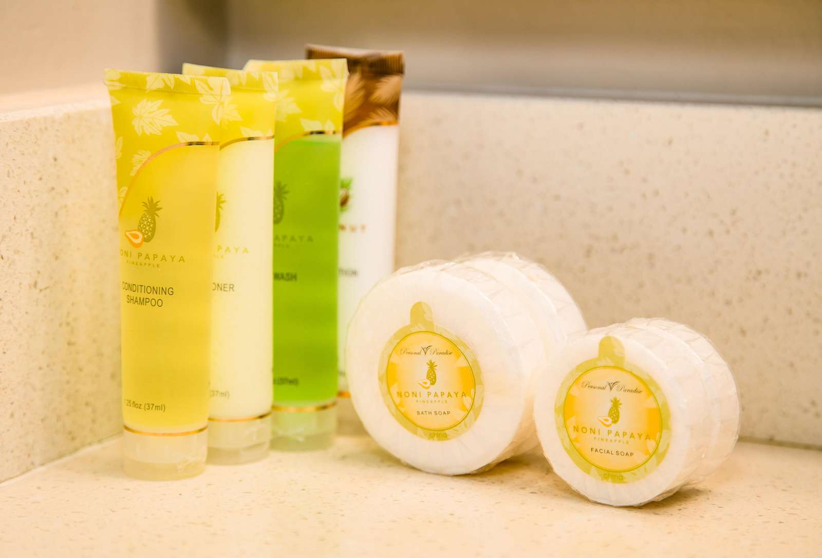 First couple of days soaps & shampoo