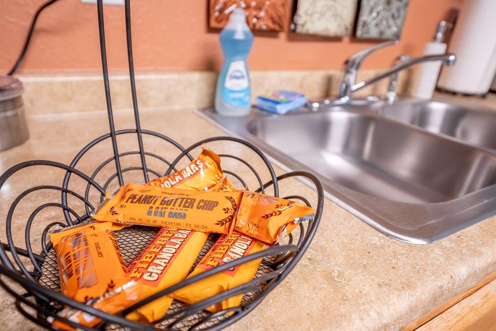 Granola bars available for use during your stay.