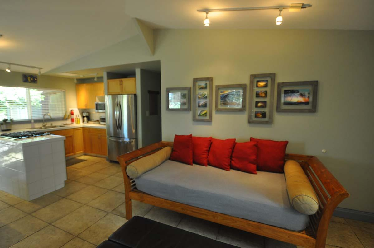 alternate view of living dining area