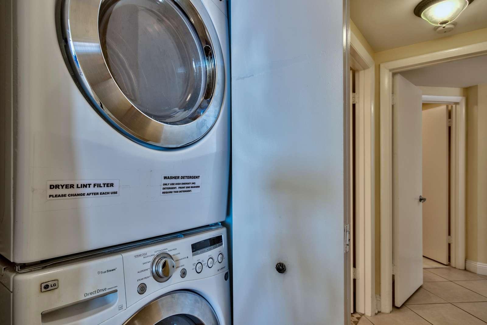 Full Wash/Dryer