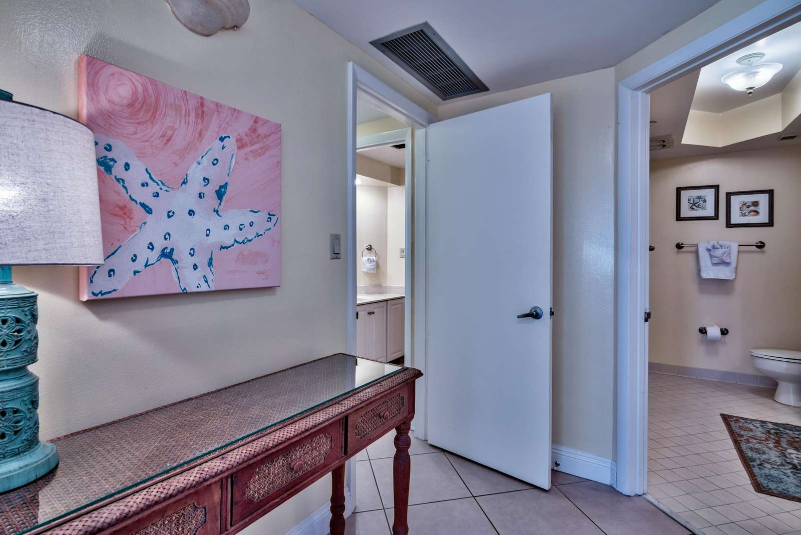 Entry Hall to Master Suite