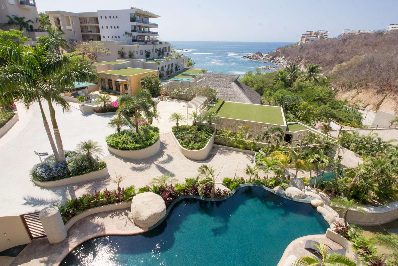 Spectacular ocean views from this property