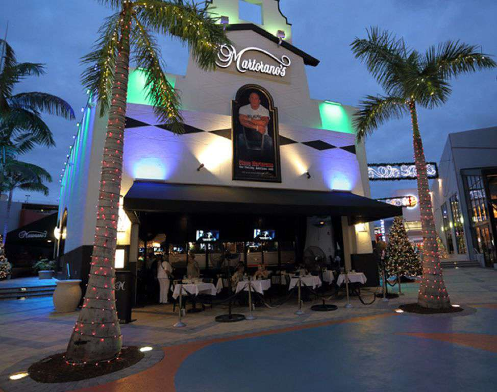 Walk one block to Martorano's Café for top notch Italian food and nightlife