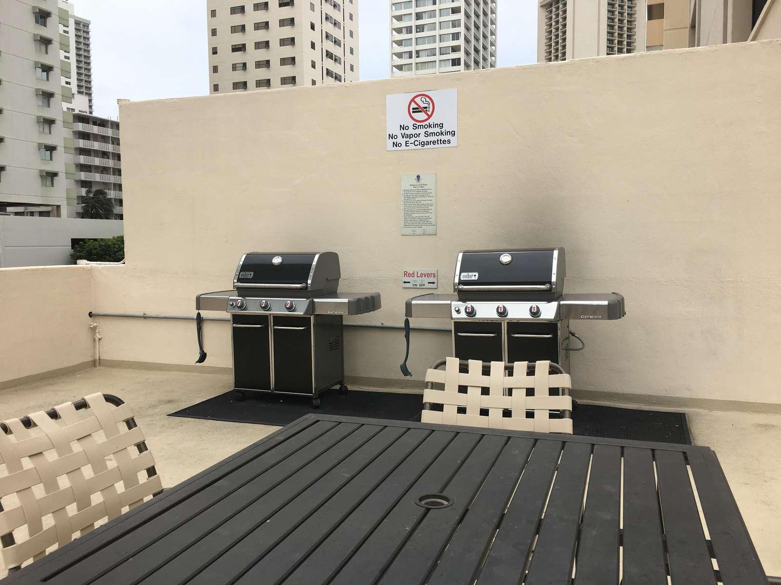 Communal BBQs