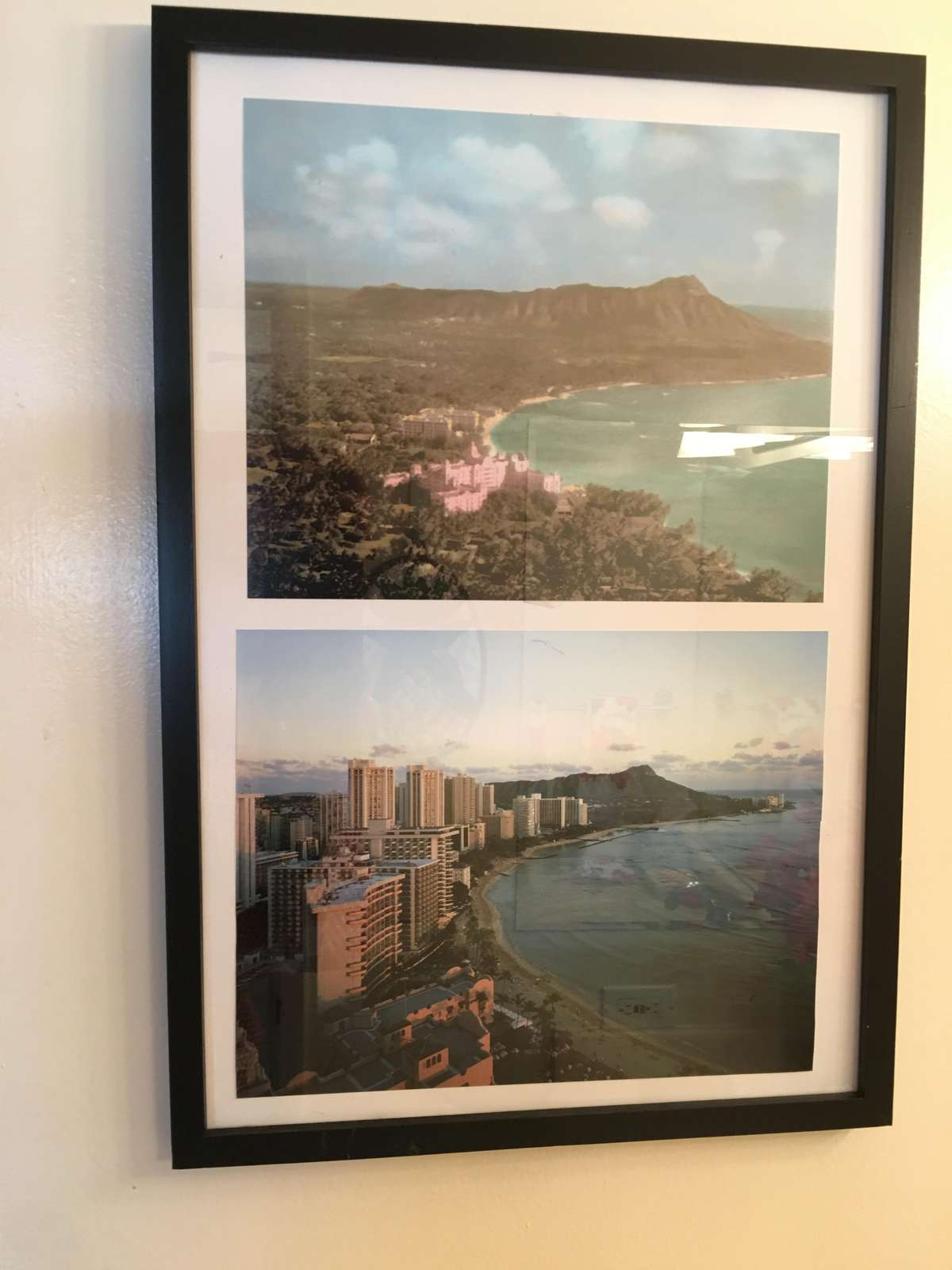 Another touch of Hawaii - local prints