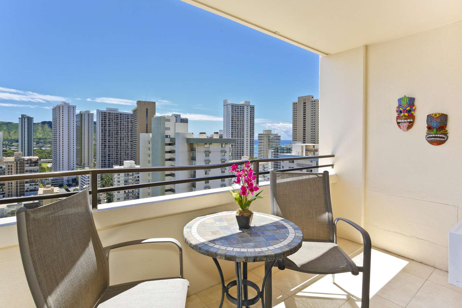Gorgeous private lanai with great views