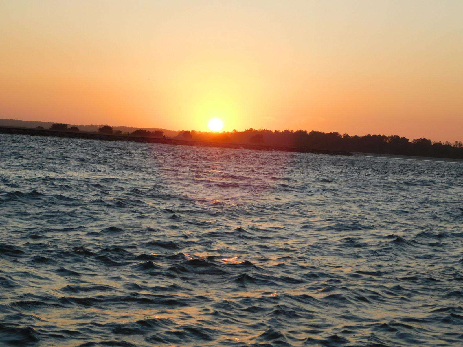 Sunset cruise at the Inlet