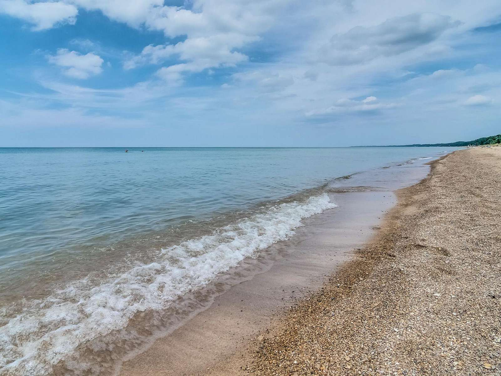 Lake Michigan Beach