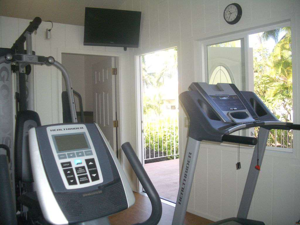 Air conditioned gym