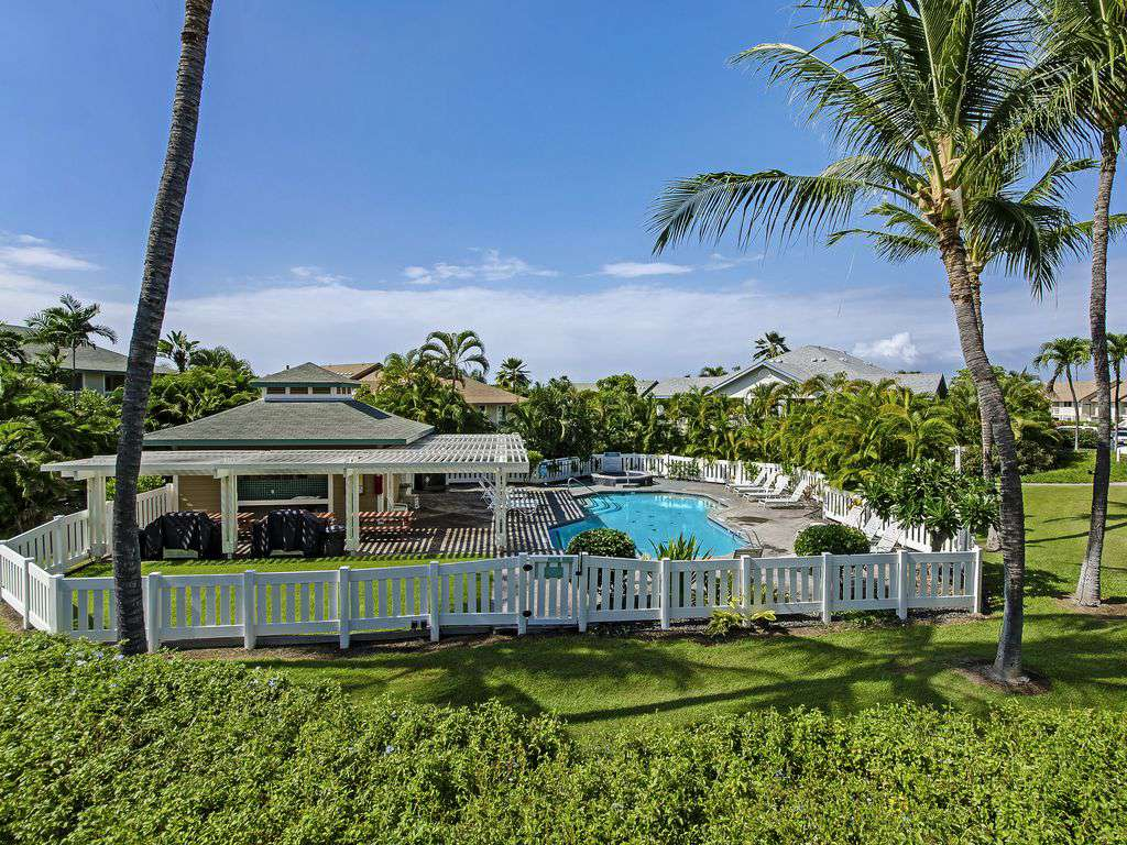 One of 2 pool areas in Alii Lani, this is the larger one.