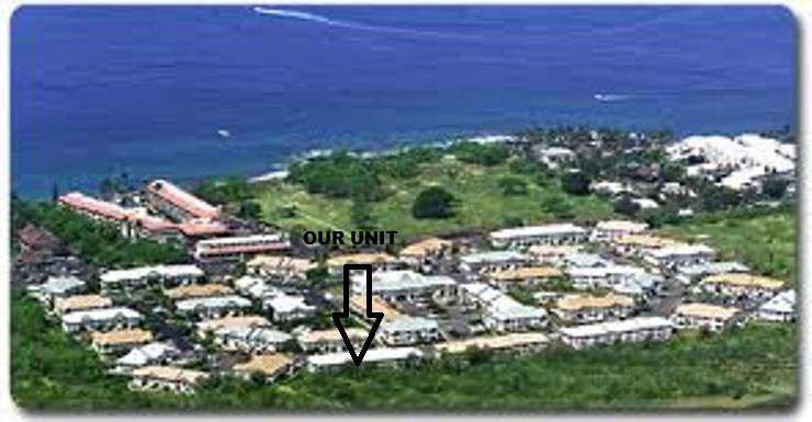 An aerial view of Alii Lani.